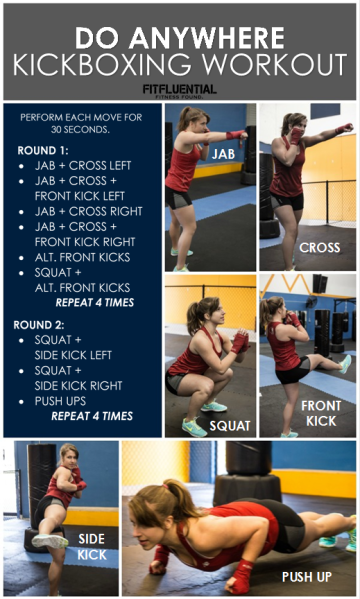Did You Get Here Via Fitfluential Com Kellyolexa Com Kickboxing Workout Kickboxing Routine Boxing Workout