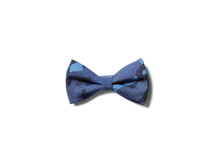 uniform experiment CAMOUFLAGE BOW TIE