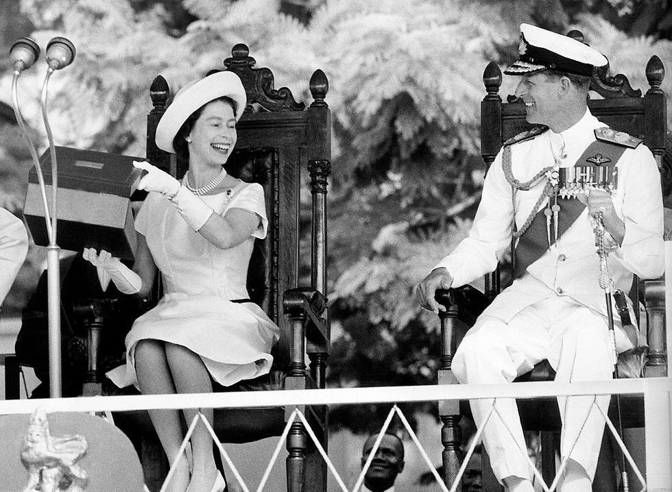 20 times the Queen and Prince Philip looked happier than