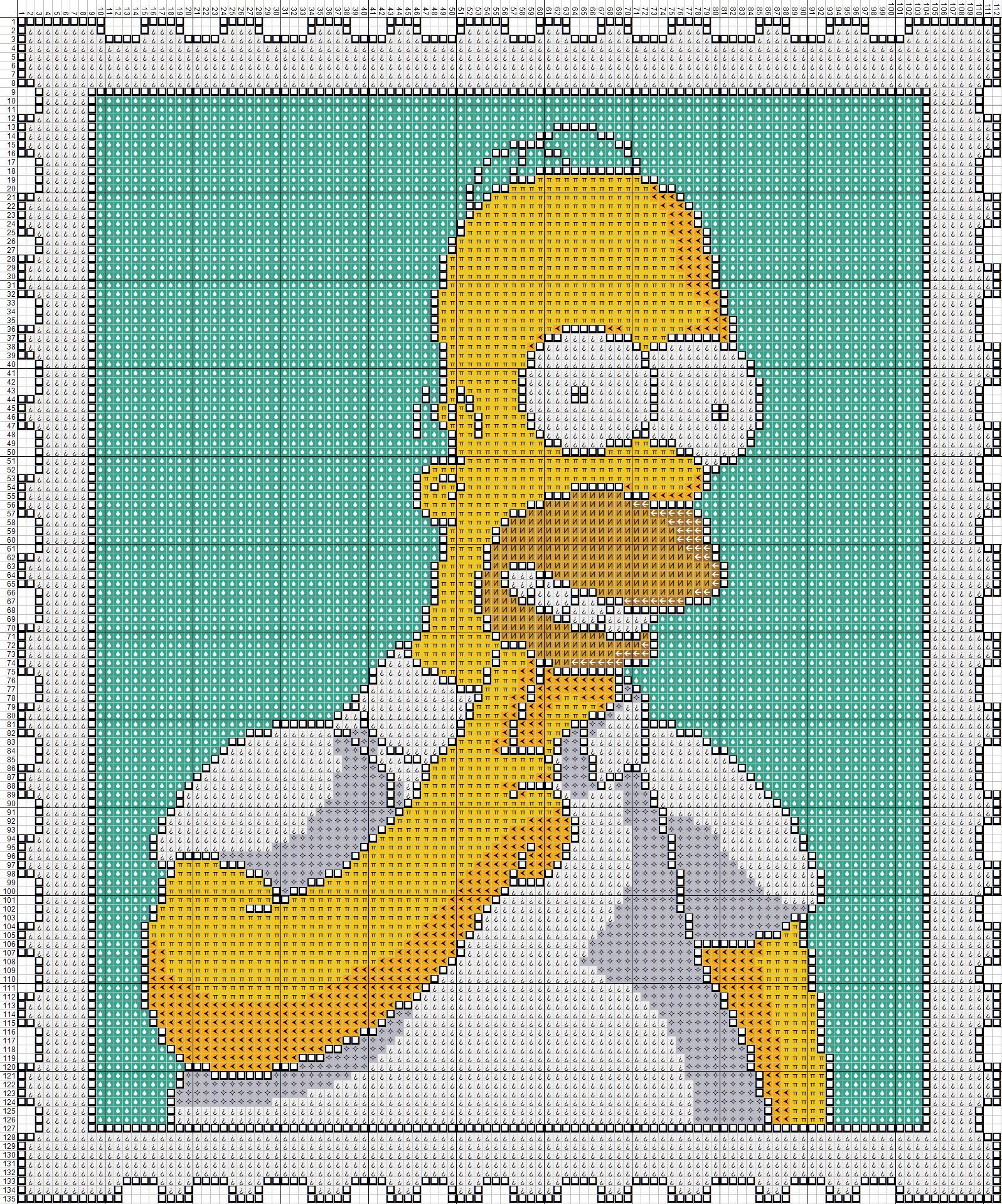 Homer Simpson X Stitch