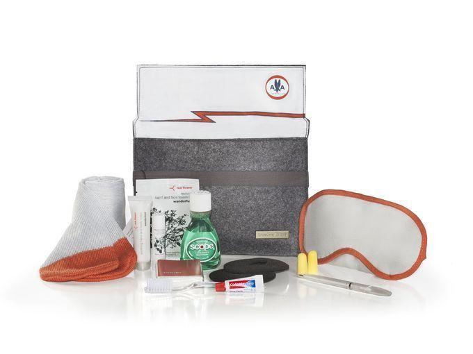 "AA American Airlines Heritage Amenity Kit ""AA"" Ltd Ed Newest Release"