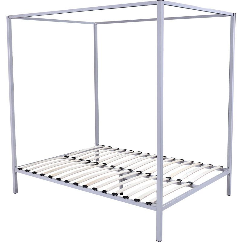 Classic Queen Size 4 Post Metal Bed Frame | Buy Queen Bed Frame ...