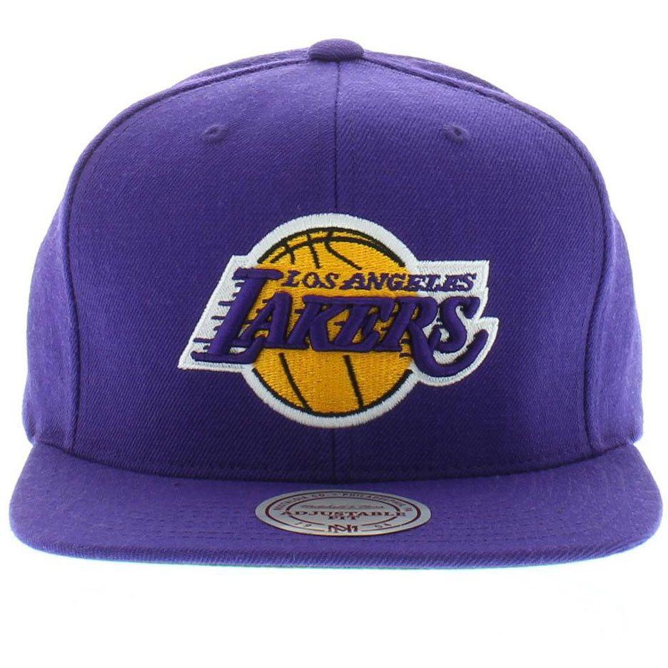 LA Los Angeles Lakers Logo Hat Snapback Cap MADE IN KOREA
