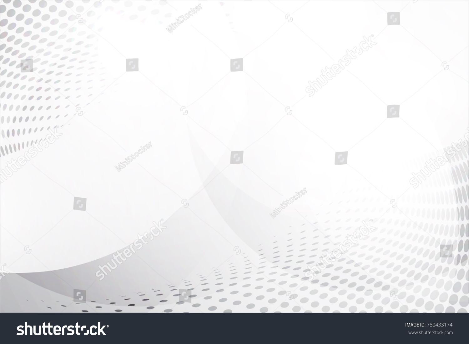 White Abstract Background Vector Gray Abstract Modern Design