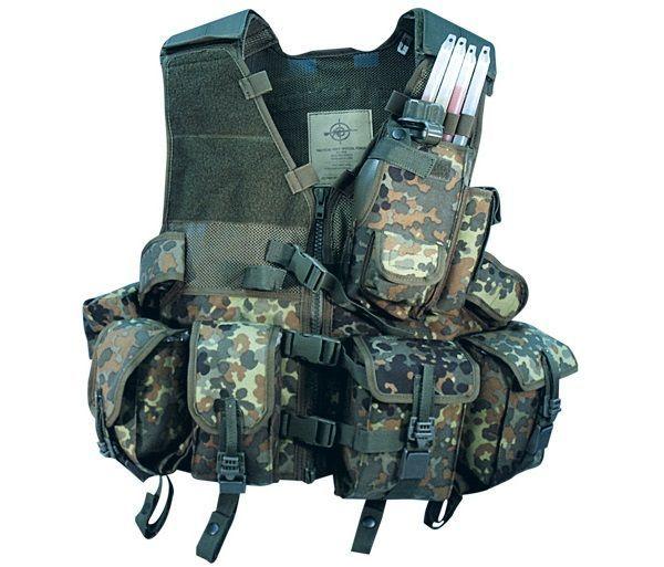 MMB Tactical Vest Special Force, flecktarn mehr Infos auf: www