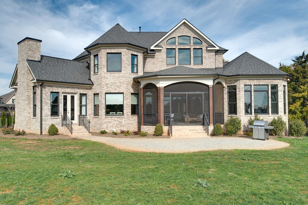 Stunning Exterior By Grandfather Homes   Local Luxury Home Builder In  Charlotte, NC   Aristides Drive Providence Downs South Marvin, NC