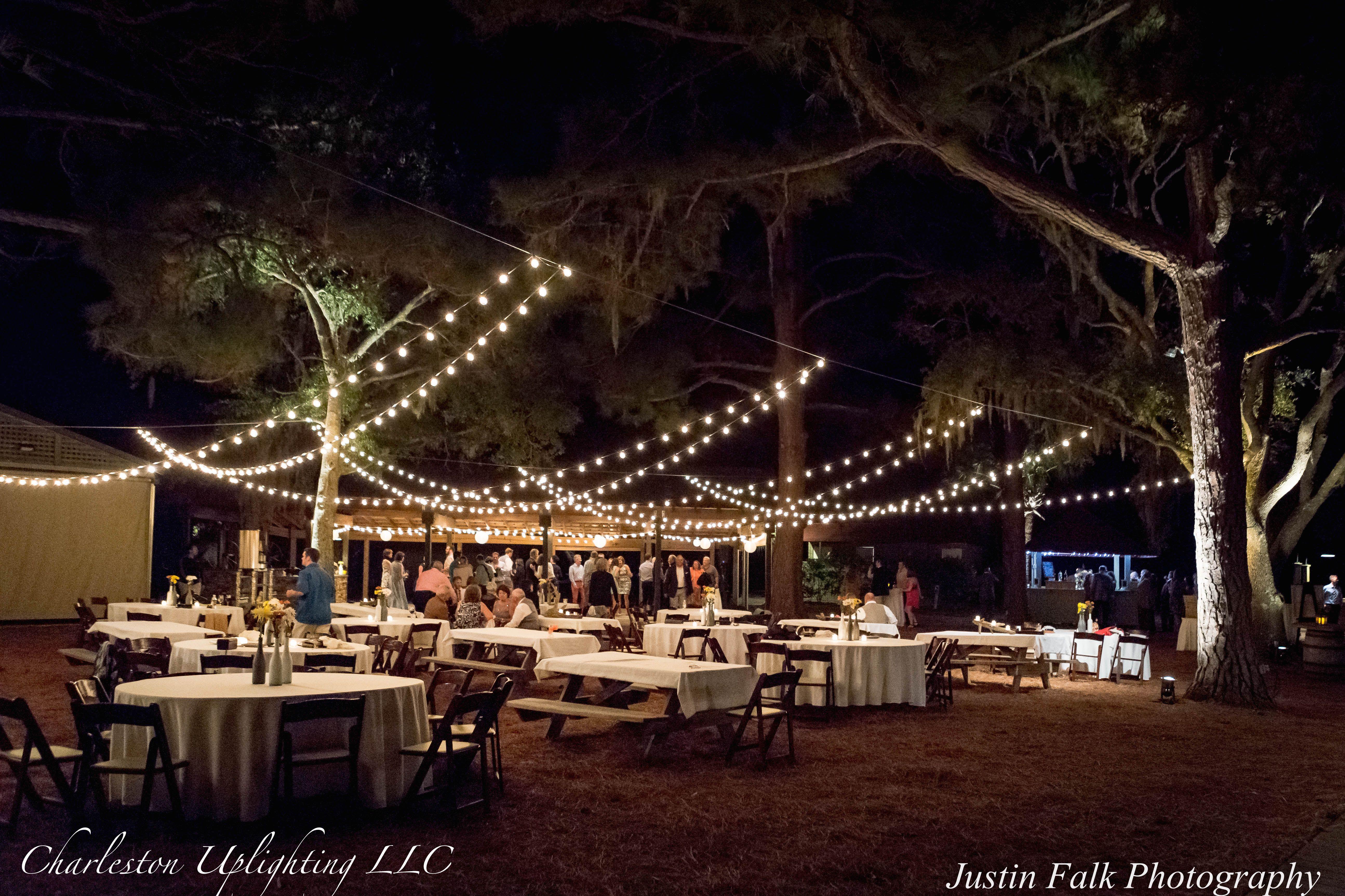 Charleston Uplighting Weddings