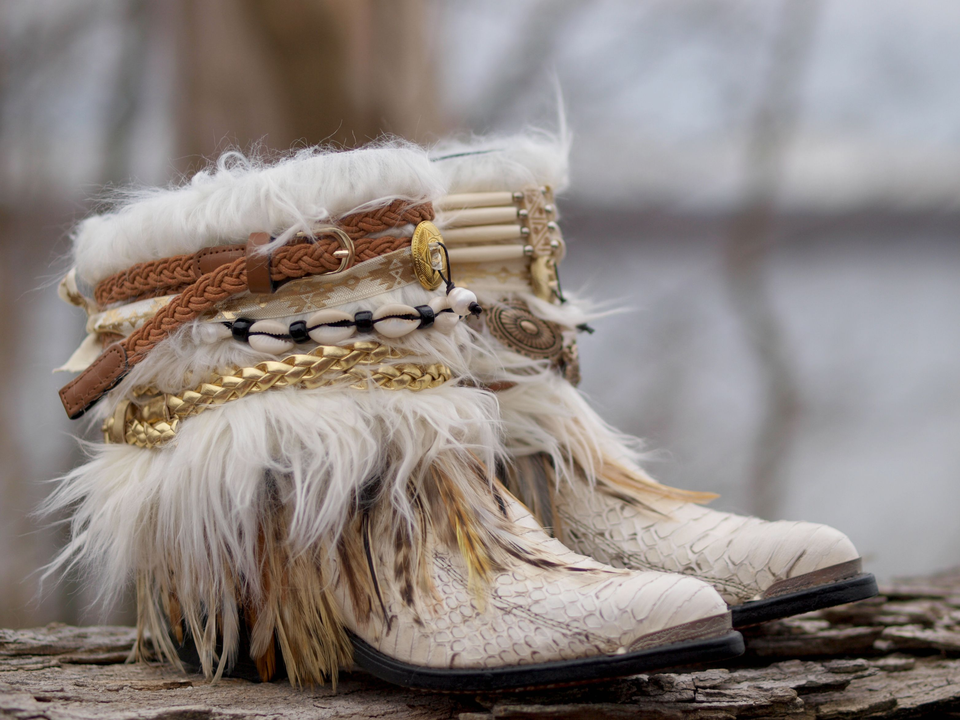 boho cowboy boots from TheLookFactory