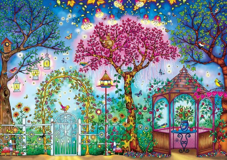 Johanna Basfords Secret Garden Songbird