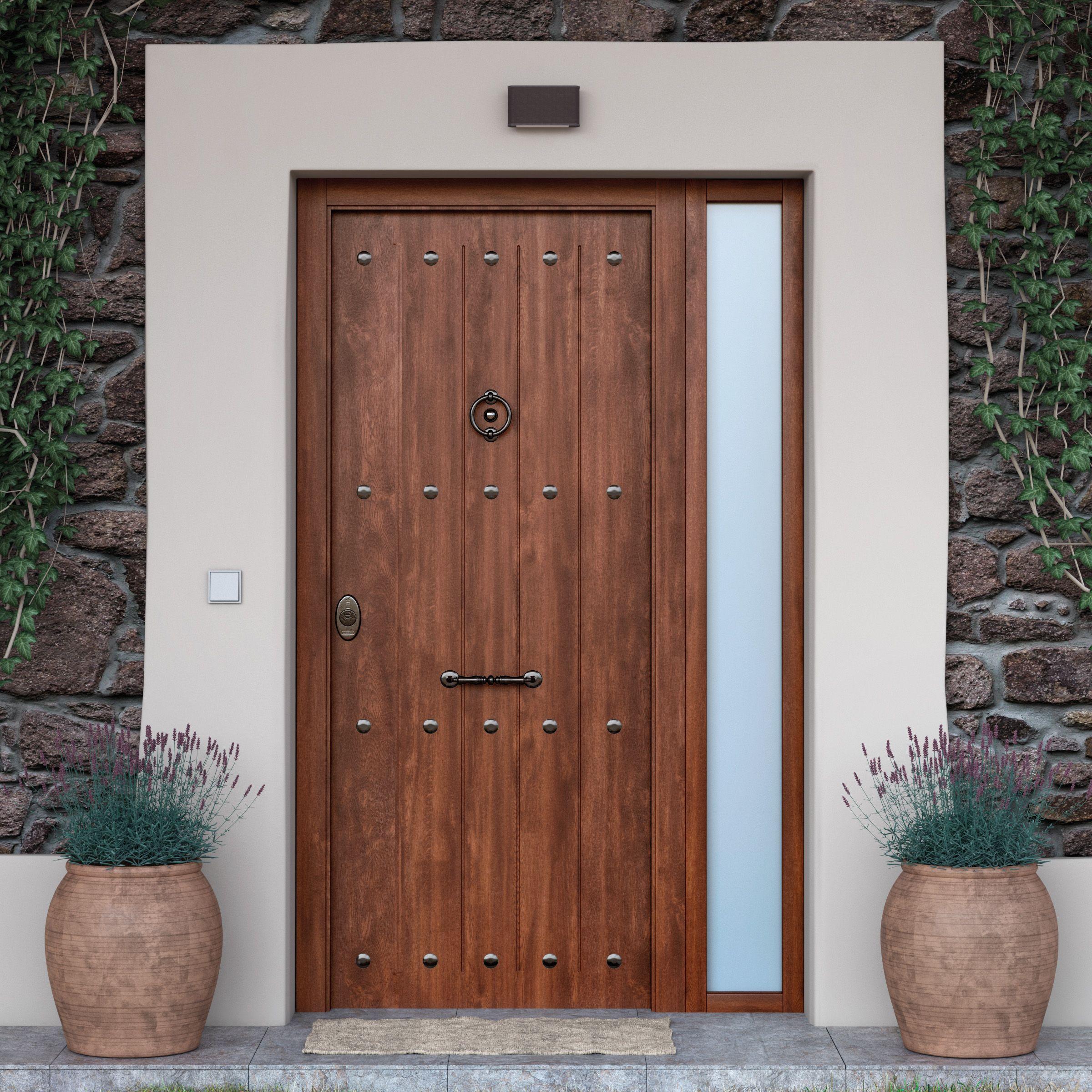 La puerta de entrada es la carta de presentaci n de tu - Pomos puertas leroy merlin ...