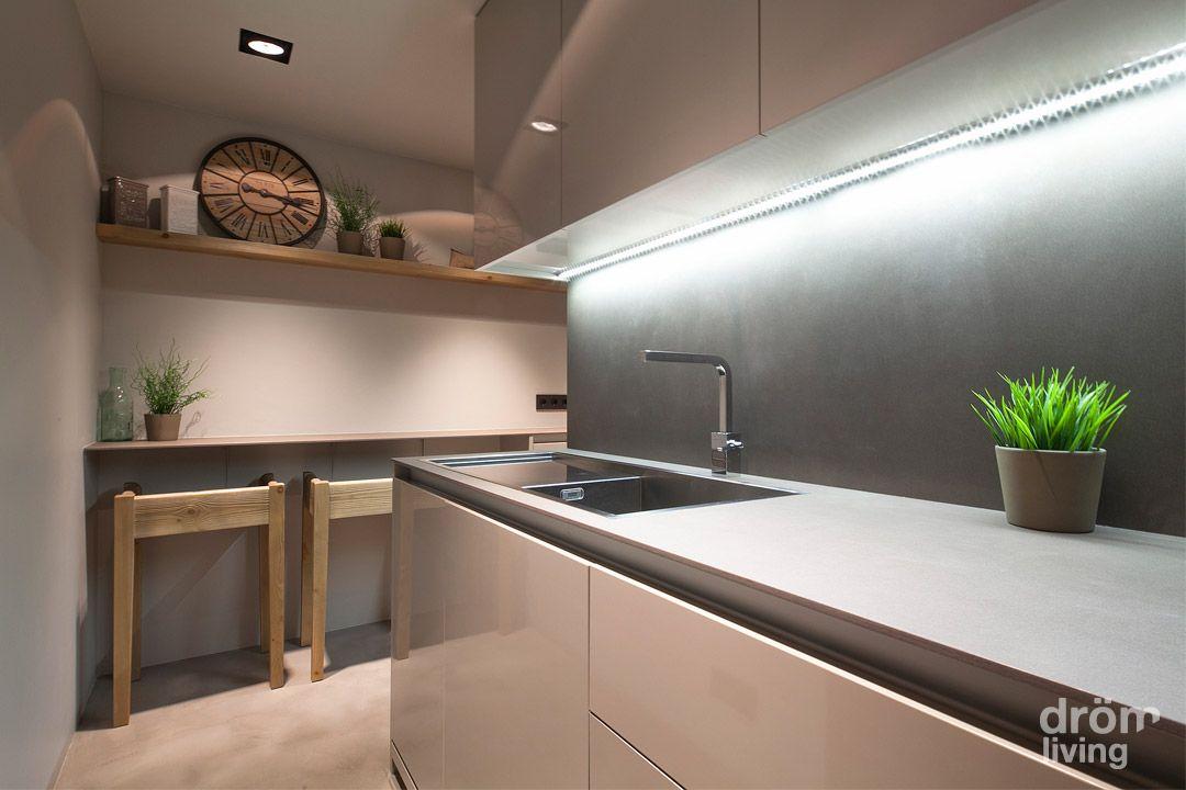 Cocina #contemporaneo #decoracion via @planreforma #accesorios - barras de cocina