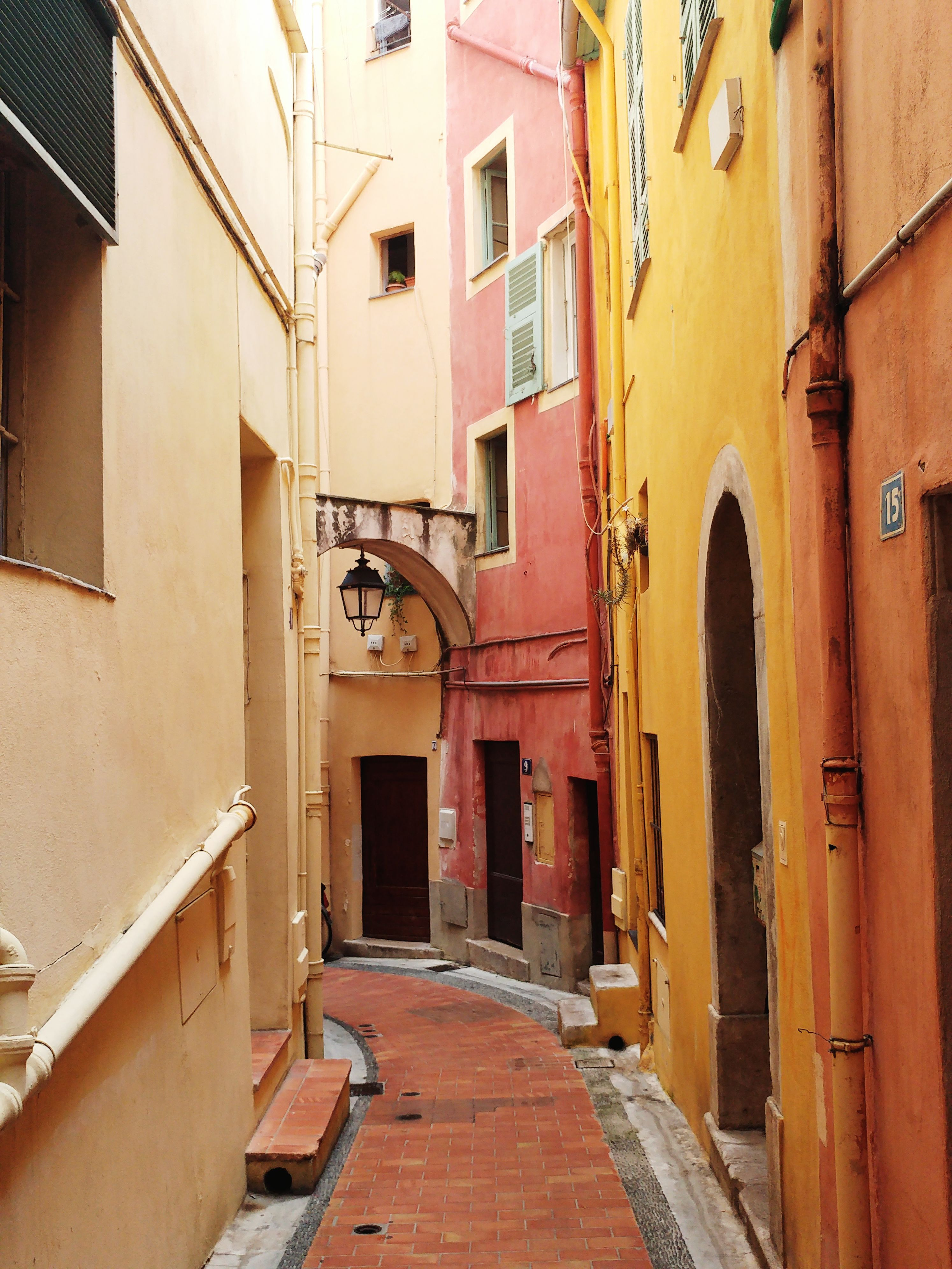 Menton old town My travels Pinterest Photography