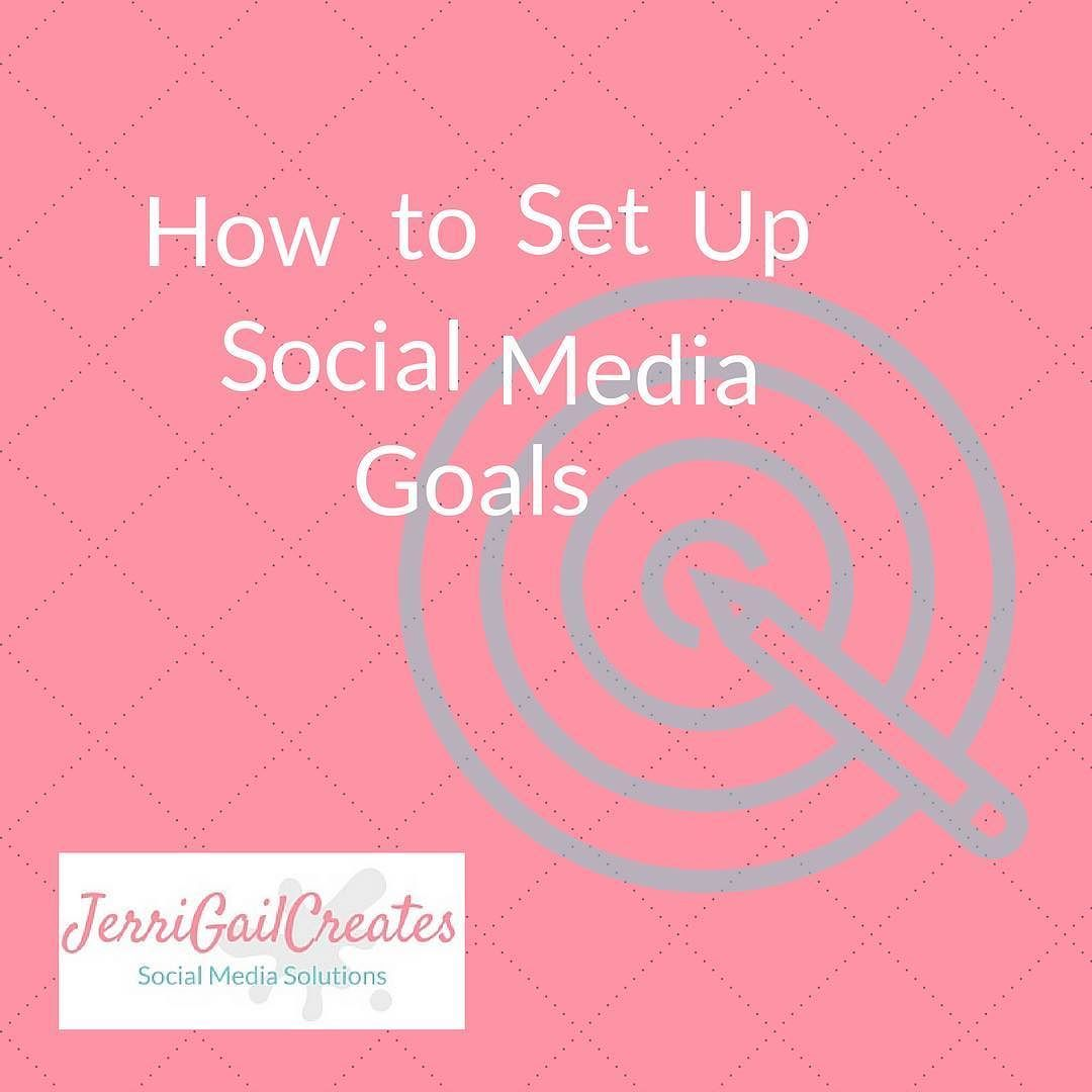 Having a hard time setting your social media goals? My new post will make it clear. Direct link in profile.  ________________________________________________________________________  #socialmediamarketing #smm #marketing #socialmediatips #smallbusiness #businesswomen #jerrigailcreates #socialmediastrategy #socialmediagoals