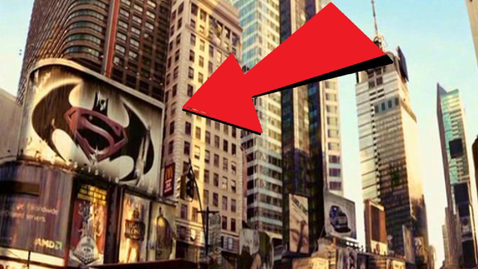 Logo De Batman Vs Superman Aparece En Pelcula Soy Leyenda