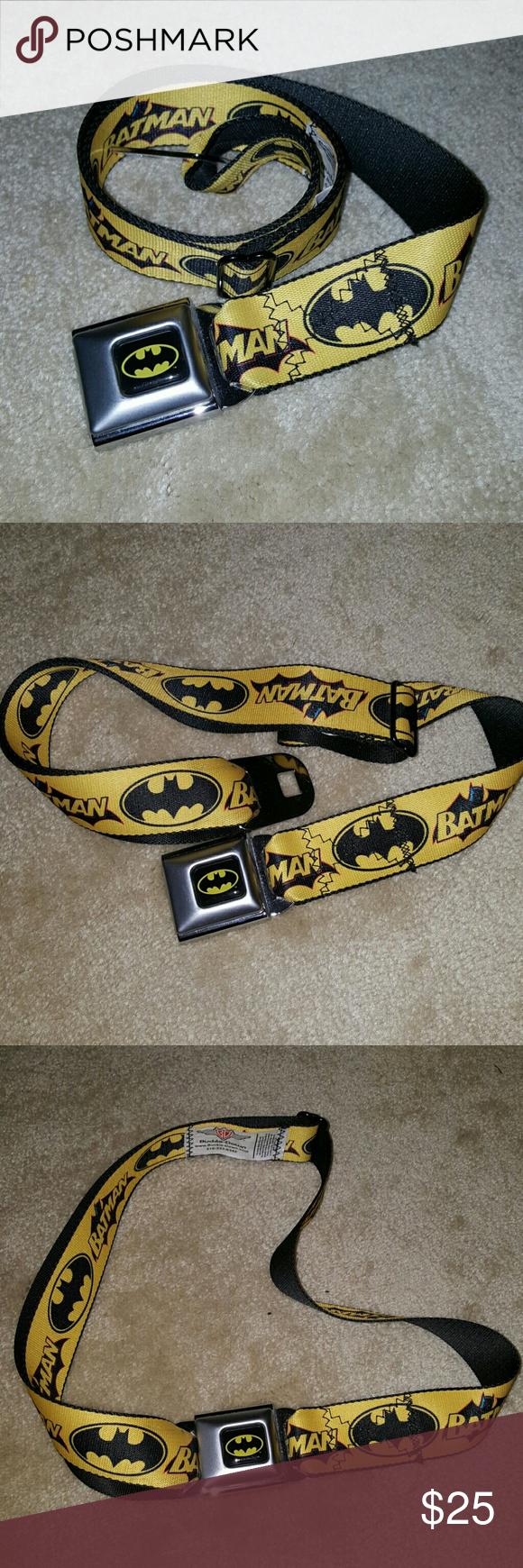 Batman Buckle Belt Batman Buckle belt. Great condition! Unisex. Buckle-Down Accessories Belts