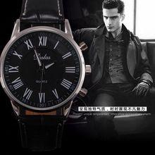 Dalas relojes de hombre Classic Retro Vintage relojes deportivos de hombre de cuarzo relojes romana analógica piel reloj masculino relogio del hombre(China (Mainland))