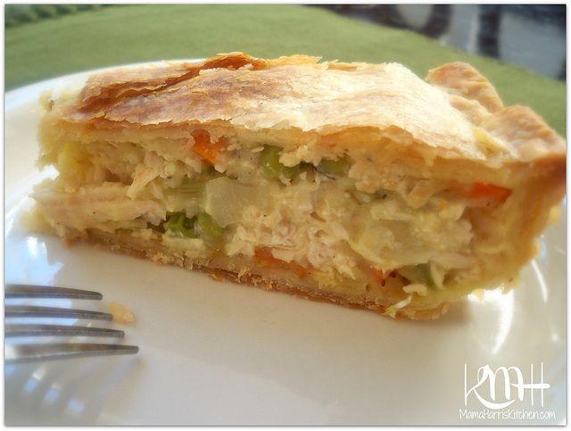 Ina Garten Chicken Pot Pie from the kitchen of mama harris: chicken pot pie made with