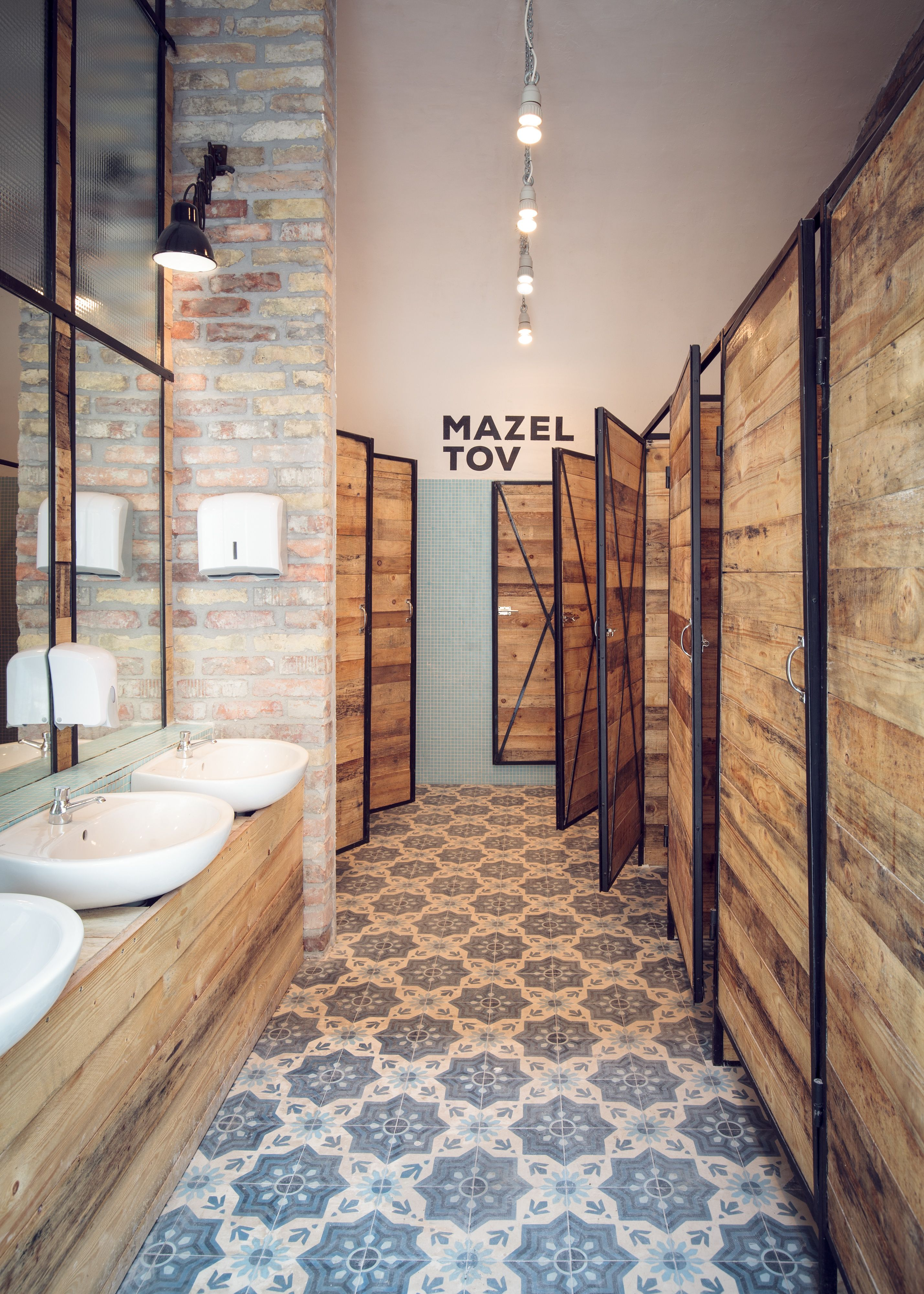 uni bathroom Retail and Restaurant Pinterest
