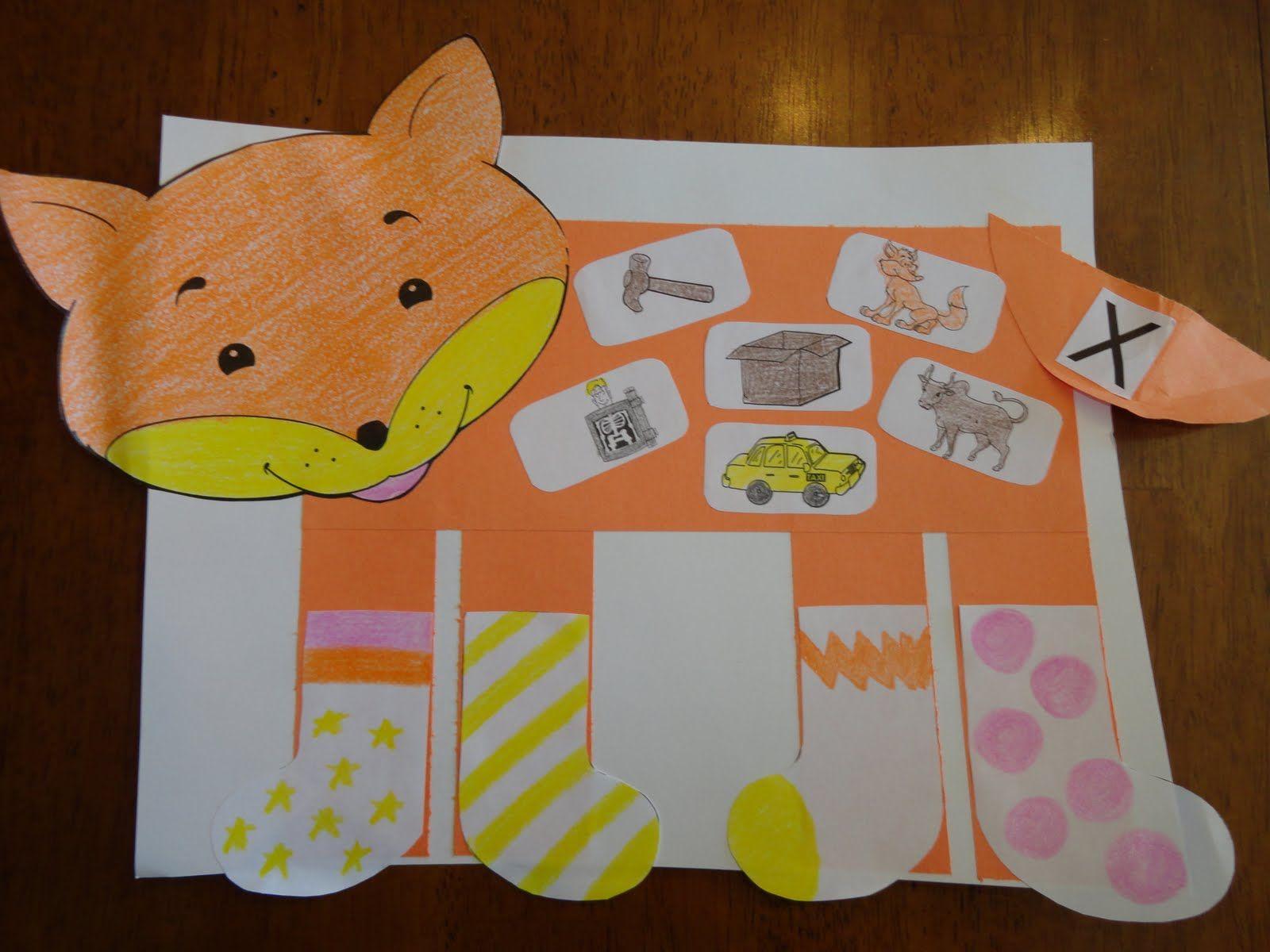 Fox In Socks Activities Kindergarten