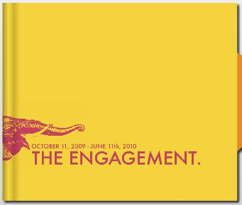 Funky engagement album cover | I do... love my guests! | Pinterest ...