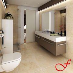 Photo of Residenza privata vk bagno moderno di fenice interiors moderno   homify