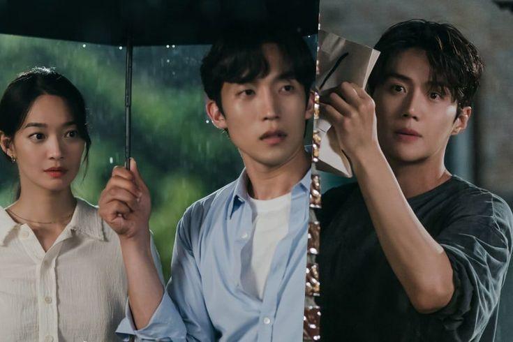 "Shin Min Ah, Lee Sang Yi, And Kim Seon Ho Have A Rainy Night Encounter In ""Hometown Cha-Cha-Cha"""