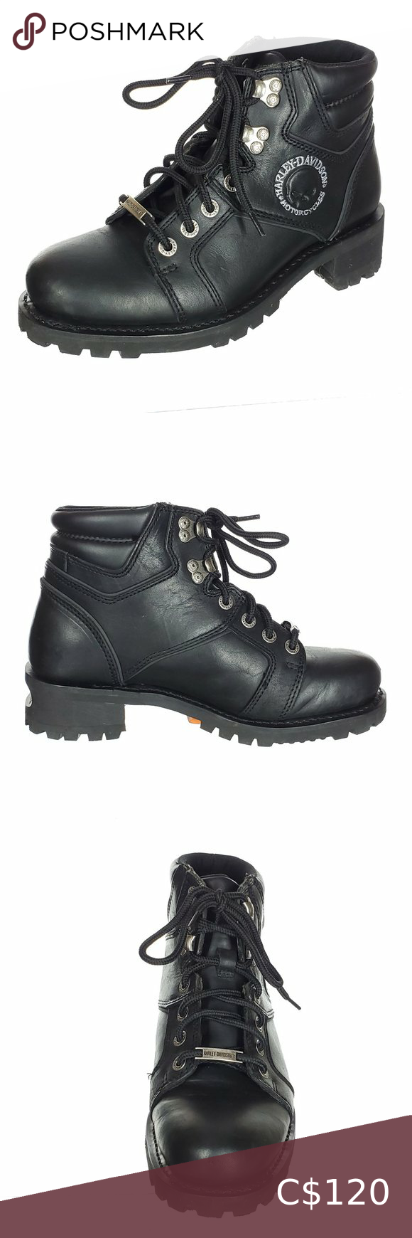 Harley Davidson Leather Boots Peg Bar Heel Bolt Harley Davidson Shoes Leather Boots Harley Davidson Motorcycle Boots