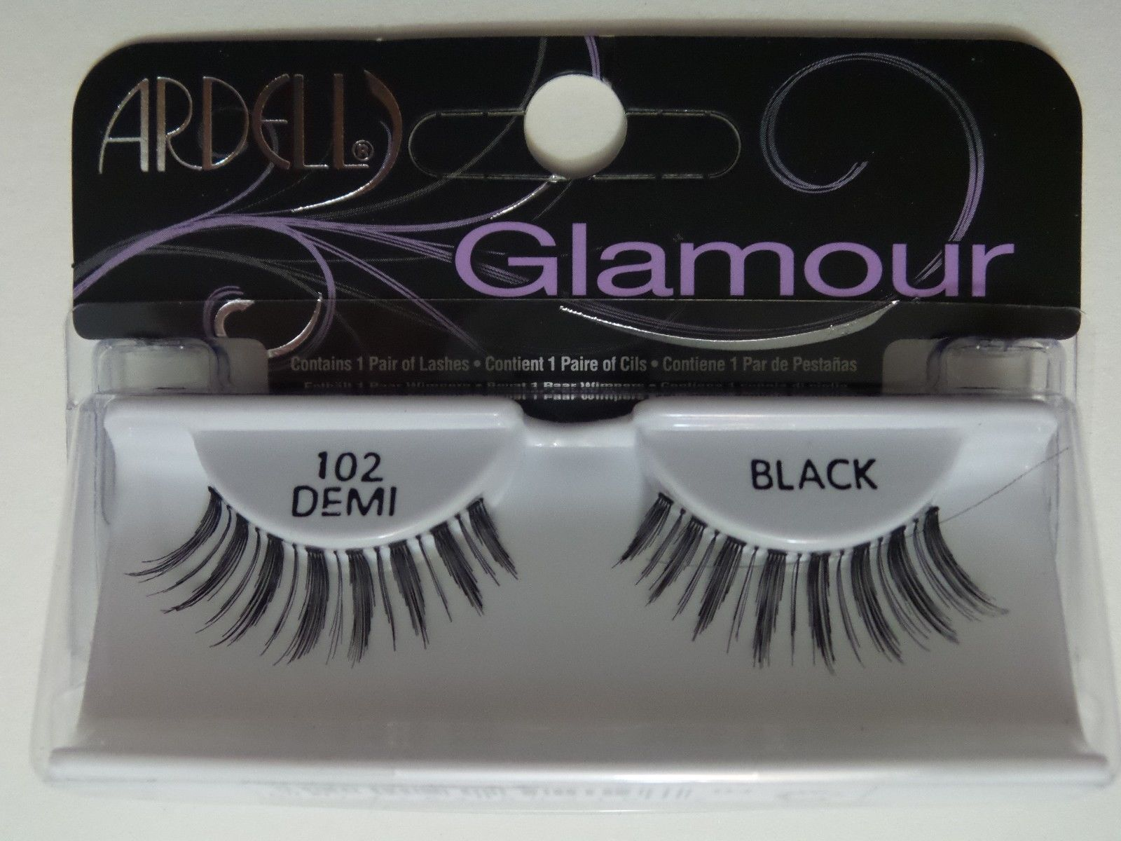 3c522fe4b48 (Lot Of 10) Ardell Natural Lashes #102 Demi False Eyelashes Fake Black  Fashion