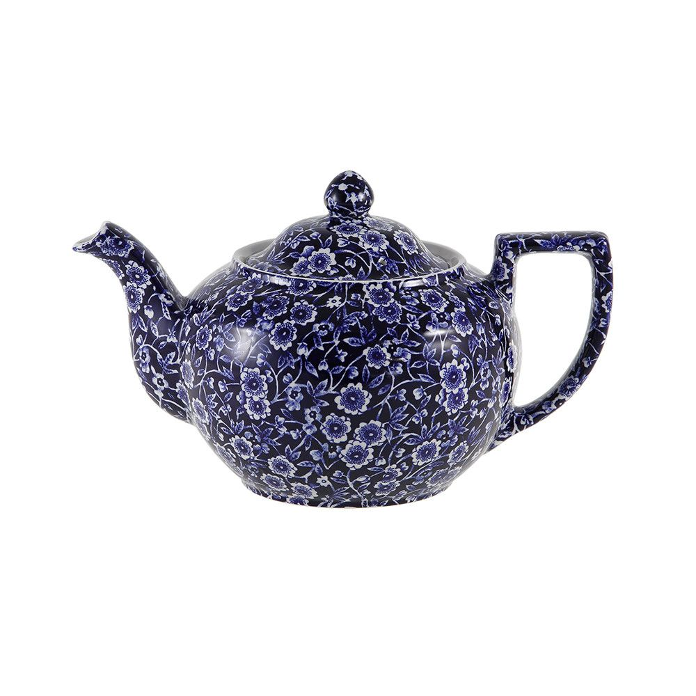 Blue Calico Teapot - Large