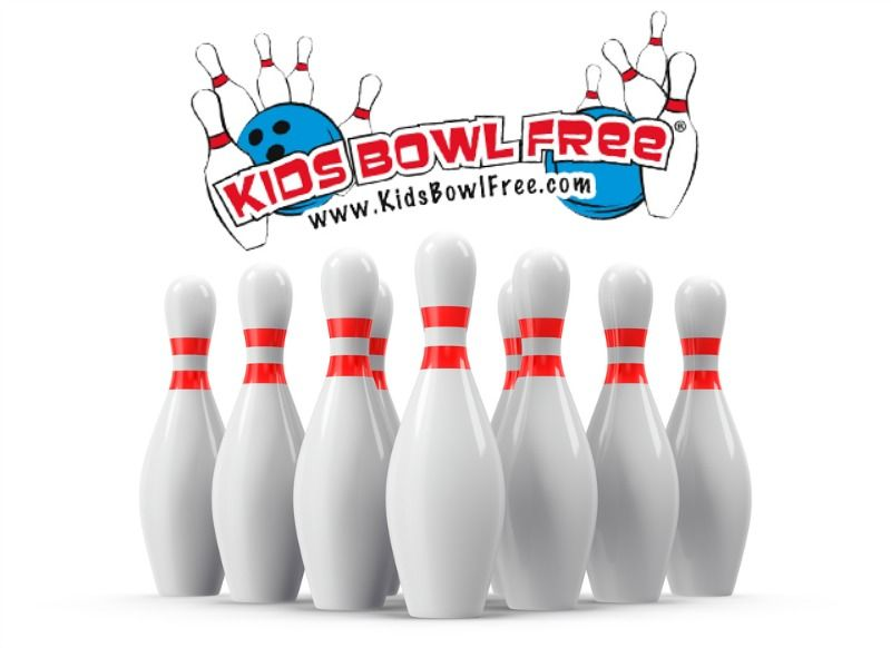Kids Receive 2 Free Games Of Bowling Every Day All Summer Long Modern Mom Free Kids Kids
