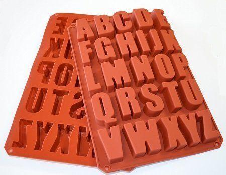NY Cake Silicone Alphabet Baking Mold