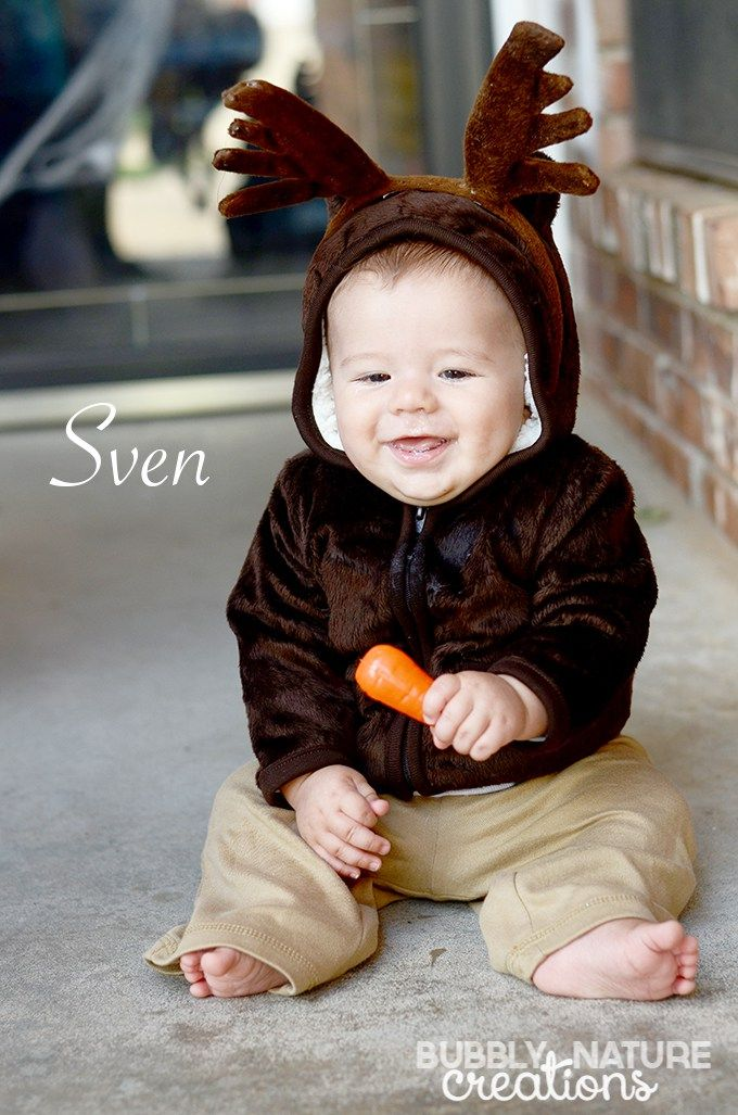 Sven Easy Costume for infants!  sc 1 st  Pinterest & Sven Easy Costume for infants! | Halloween | Pinterest | Easy ...