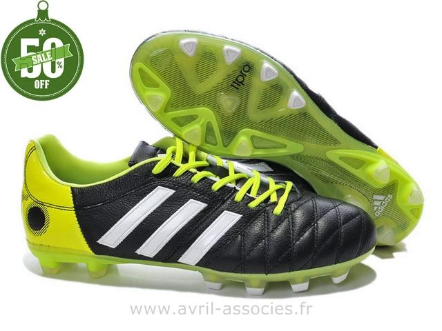 newest 47d46 3a11d ... czech boutique chaussures de foot adidas adipure 11pro trx fg noir  blanc vert basket adidas pas