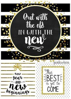FREE New Years Printables Pack - PinkWhen