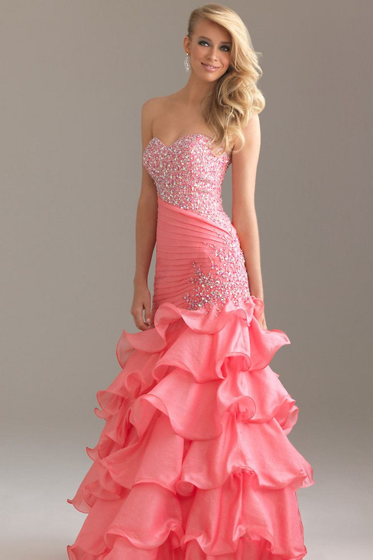 Shop Hot Selling Sexy Prom Dresses Mermaid Sweetheart Floor Length ...
