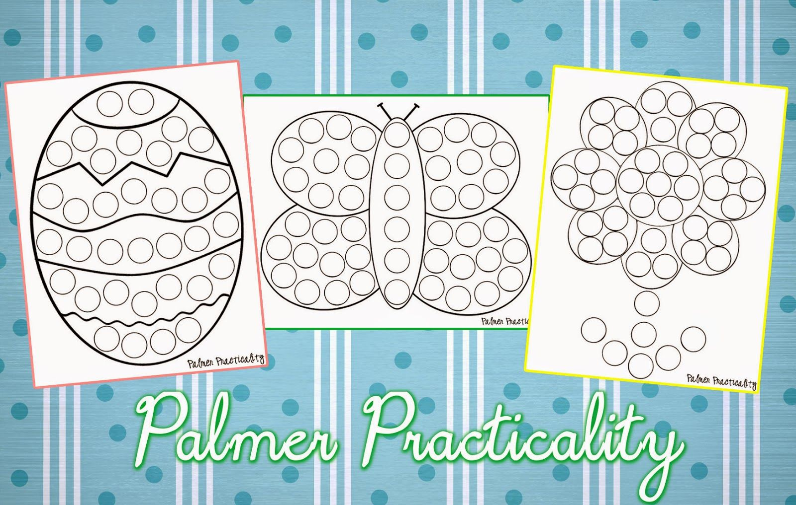 Palmer Practicality: Spring Do a Dot Printables | Projects to Try ...