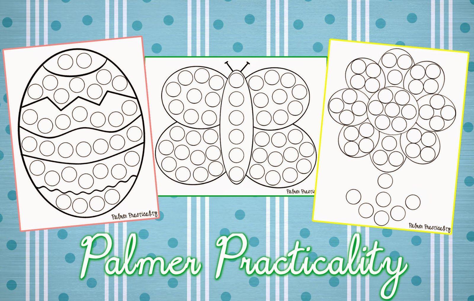 Palmer Practicality Spring Do A Dot Printables