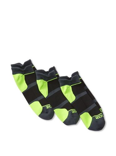 53% OFF 2(X)ist Men\'s 3-Pack Athletic Sock Set (Grey)