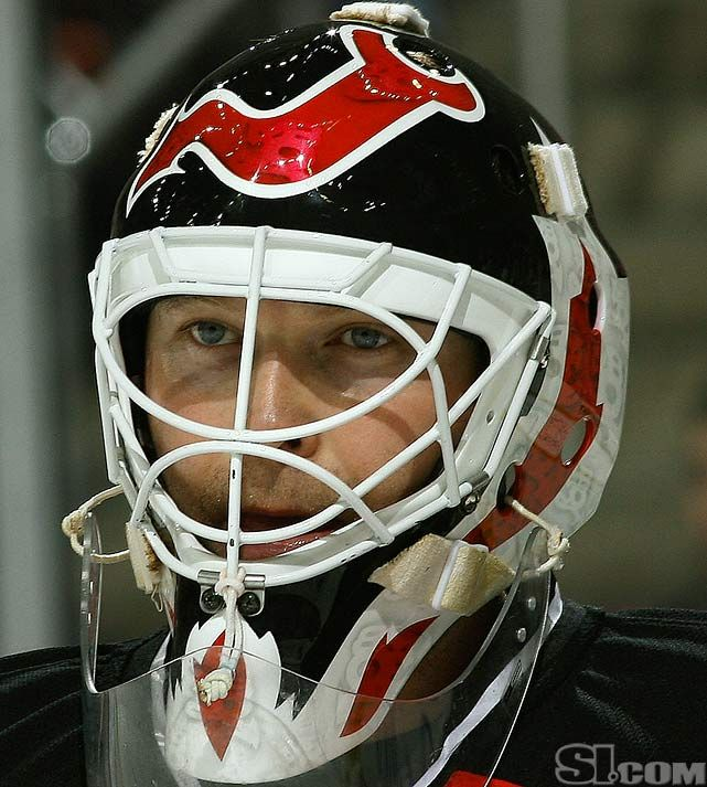Pin By Kyle Morel On Martin Brodeur Jour175 Goalie Mask Martin