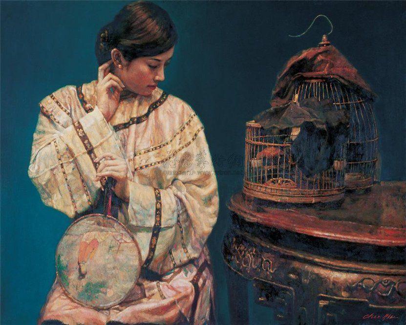 Chen+Yifei+1946-2005+-+Chinese+Figurative+painter+-+Tutt'Art@+(14)