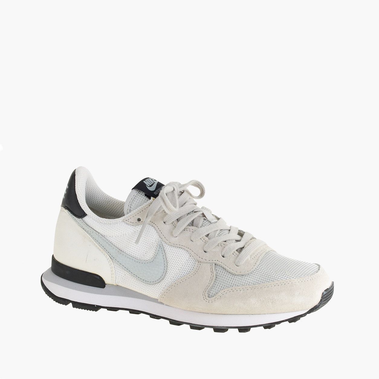 check out cafc1 dfac2 J.Crew Women s Nike Internationalist Mid Sneakers