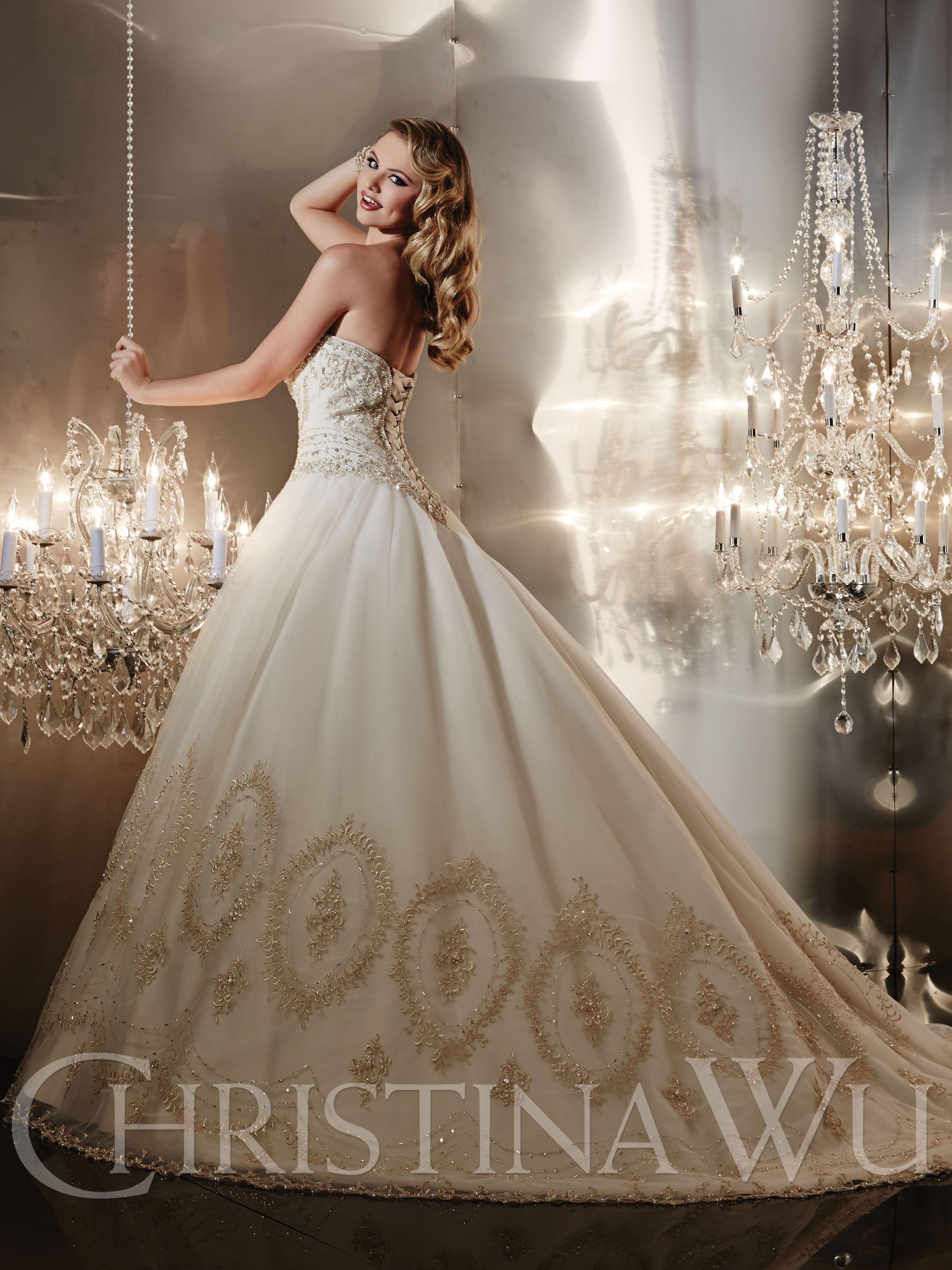 Christina wu wedding dresses  Christina Wu Style   Wedding gowns  Pinterest  Christina wu