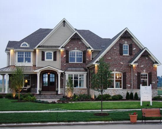 Beautiful 2 story homes google search house fronts for Beautiful two story homes