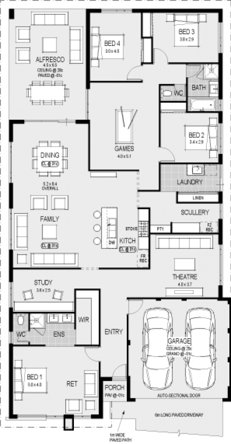 Best Take Off Garage And First Bedroom Then Change Study To Bed 400 x 300