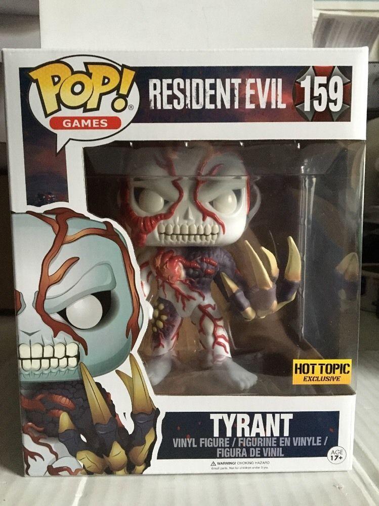 Funko Pop Games Resident Evil Tyrant 159 6 Hot Topic