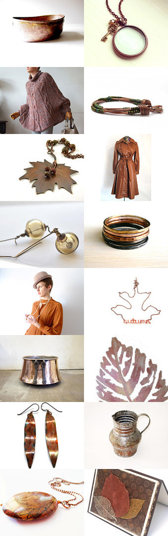 Copper Craze by Kathryn on Etsy--Pinned with TreasuryPin.com