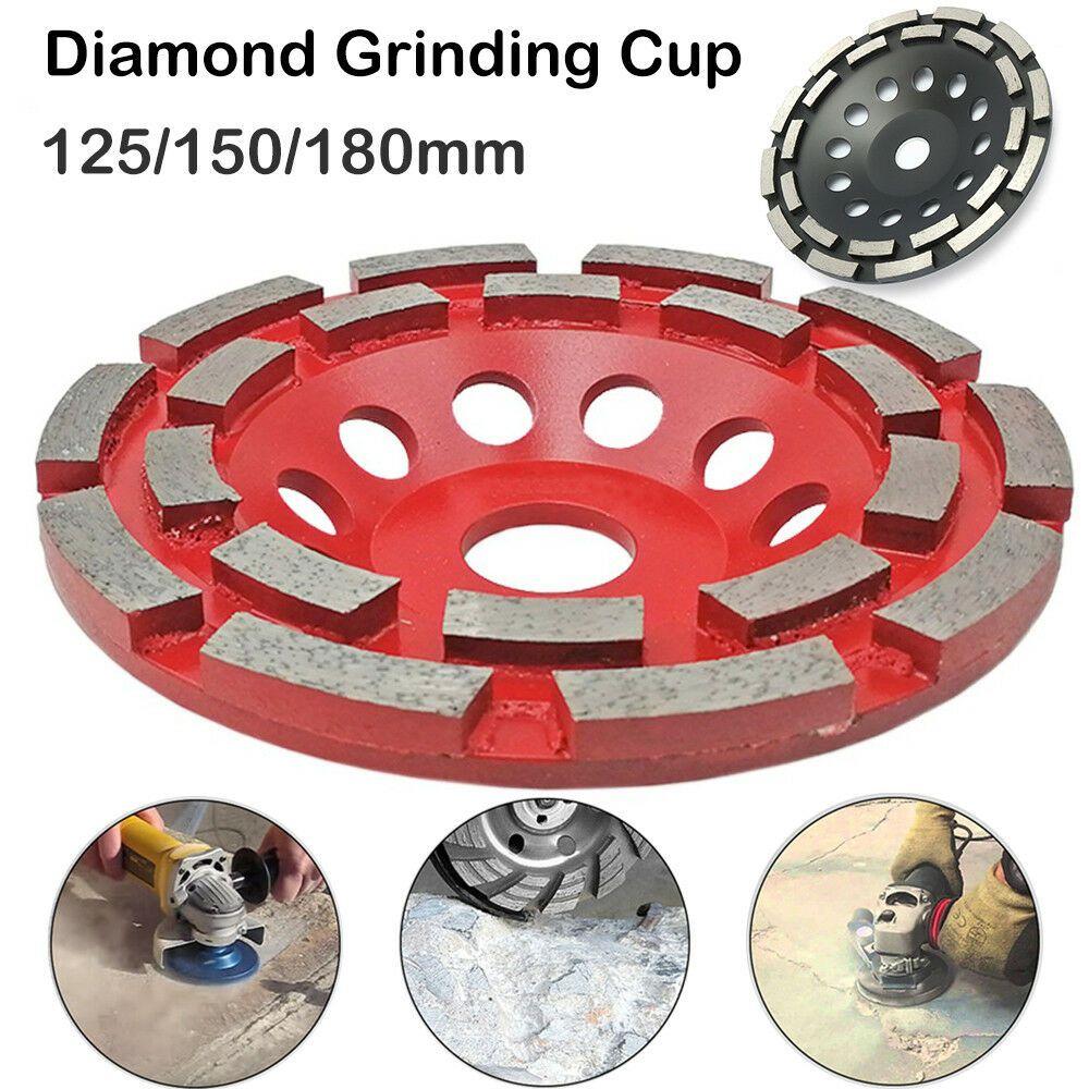 125 180 Mm Disque Diamant A Meuler Beton Pierre Brique Carrelage Meuleuse Angle Meuleuse Brique Disque Diamant