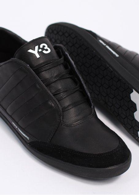 15f037850cc09 Y3   Adidas - Yohji Yamamoto Honja Low Trainers - Black