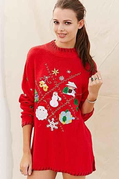 b92794635a1 Urban Renewal Vintage Ugly Christmas Sweater