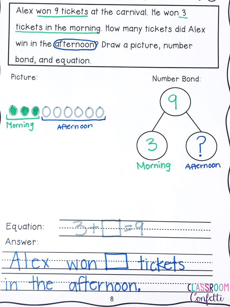 How To Use Problem Solving In Math Everyday Math Journals First Grade Math Higher Order Thinking Skills